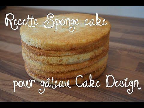 recette sponge cake pour g teau cake design p te sucre recipe sponge cake youtube. Black Bedroom Furniture Sets. Home Design Ideas