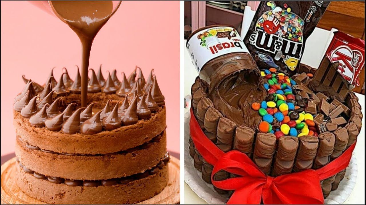 How To Make Chocolate Cake Decorating Ideas Most Satisfying