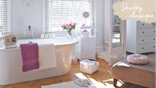 Salle de bain shabby deco Pinterest Campaign