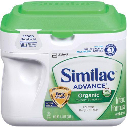 Similac Organic Infant Formula 23 2 Oz Similac Formula Similac Baby Formula