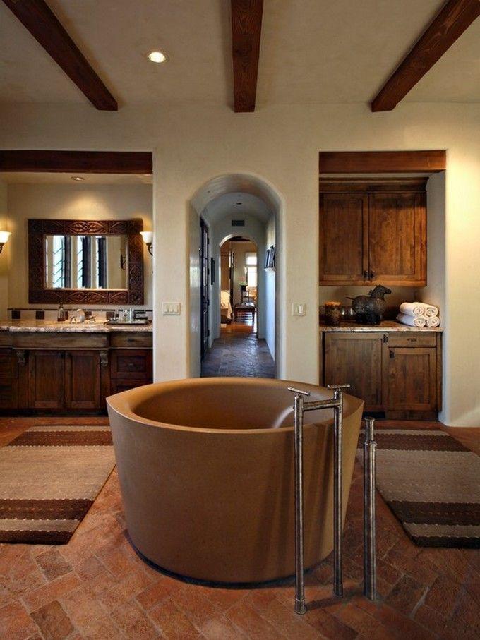 25 Inspirational Mediterranean Bathroom Design Ideas French