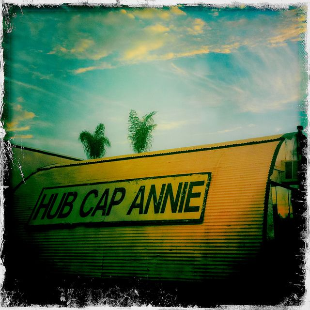 Hub Cap Annie by TooMuchFire, via Flickr
