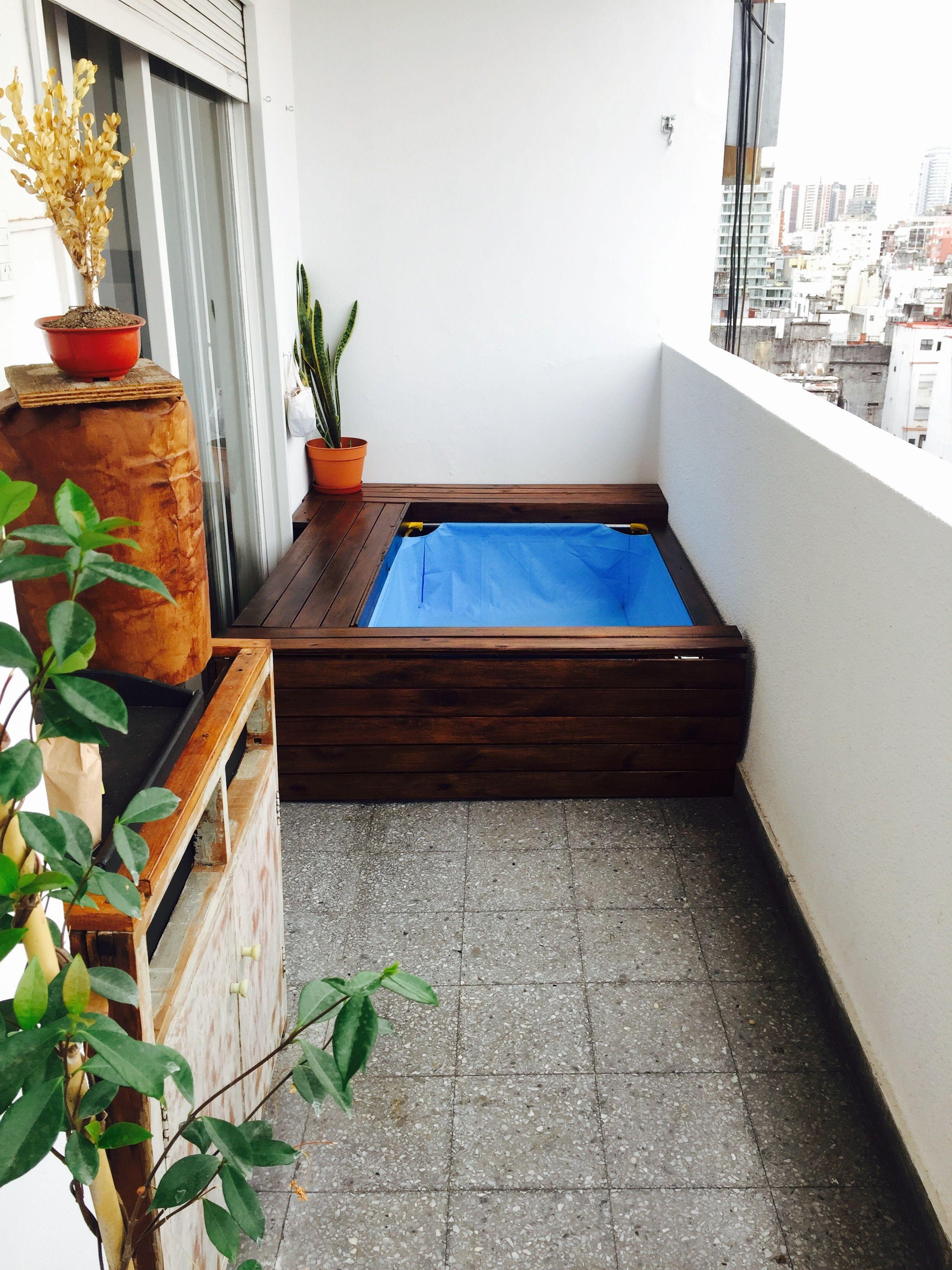 Piletas de balcón | piletas de balcon | Pinterest | Piletas y Balcones