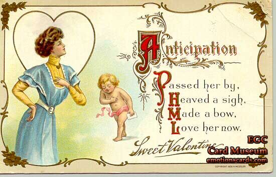 Valentines day cards change drastically over past 100 plus years american gilded age era st valentines day greeting with an image in m4hsunfo