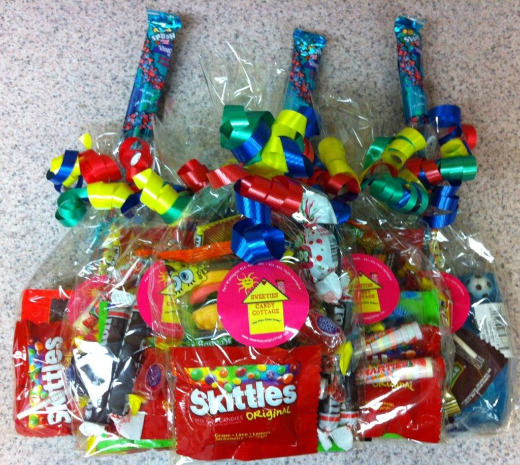 First Birthday Boy Party Loot Bag Single: Goody Bags By Sweeties Candy Cottage Www