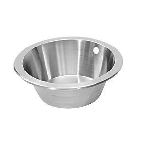 Screwfix Pyramis Royal Mini Kitchen Sink Stainless Steel 1 Bowl