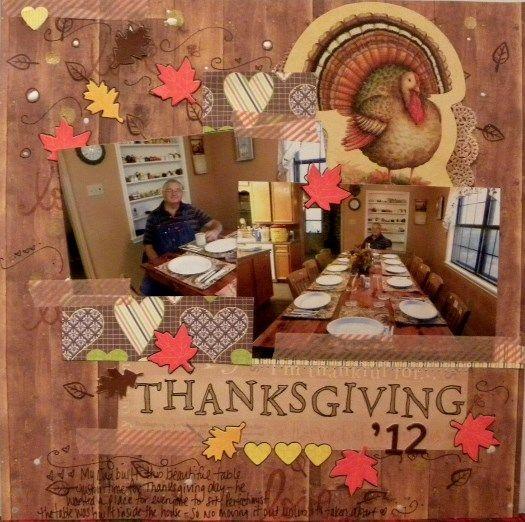 Scrapbooking Thanksgiving