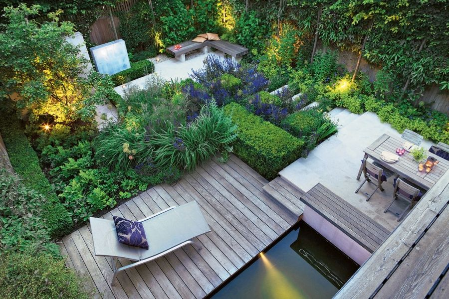 10 id es pour am nager un petit jardin garden am nager - Amenager un petit jardin de ville ...