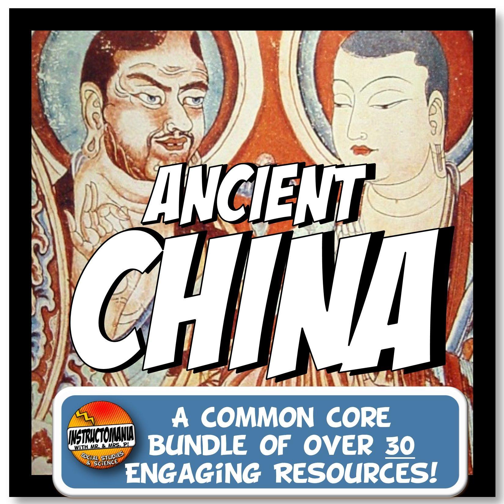 Ancient China Complete Unit Plan Lesson Amp Activities