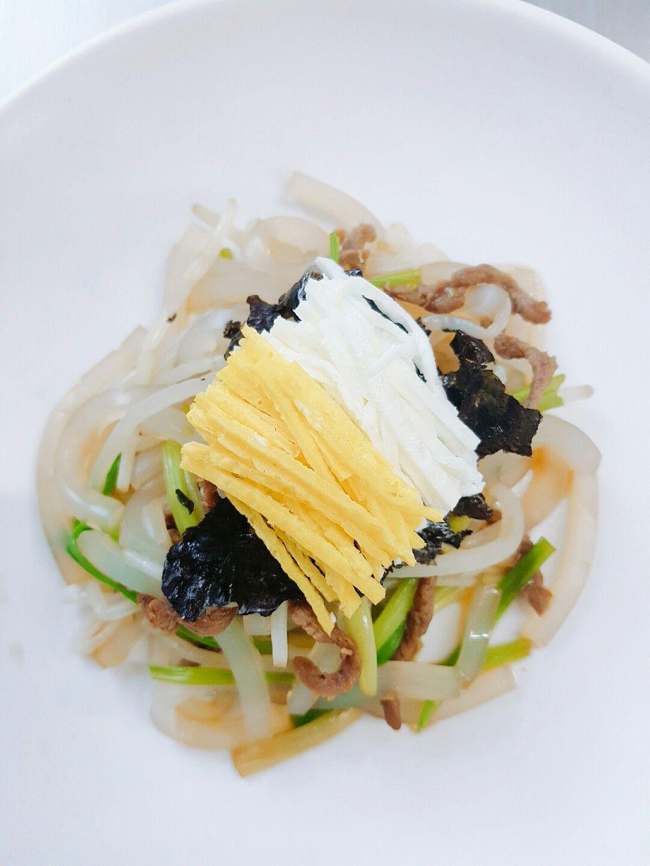 #탕평채 #한식 #한식조리기능사 #한국음식 #한국전통음식 #봄의음식 #koreanfood