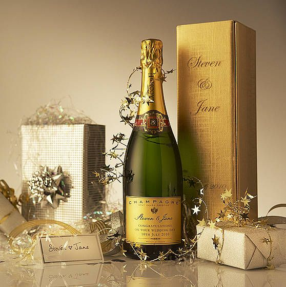 Personalised Wedding Champagne Nice Gift From Not On The High Street