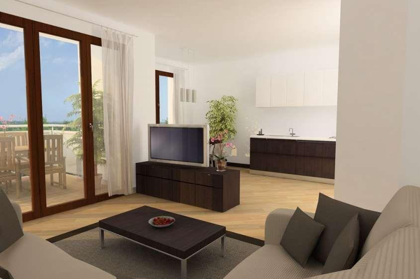 Cucina e soggiorno open space - Open living space