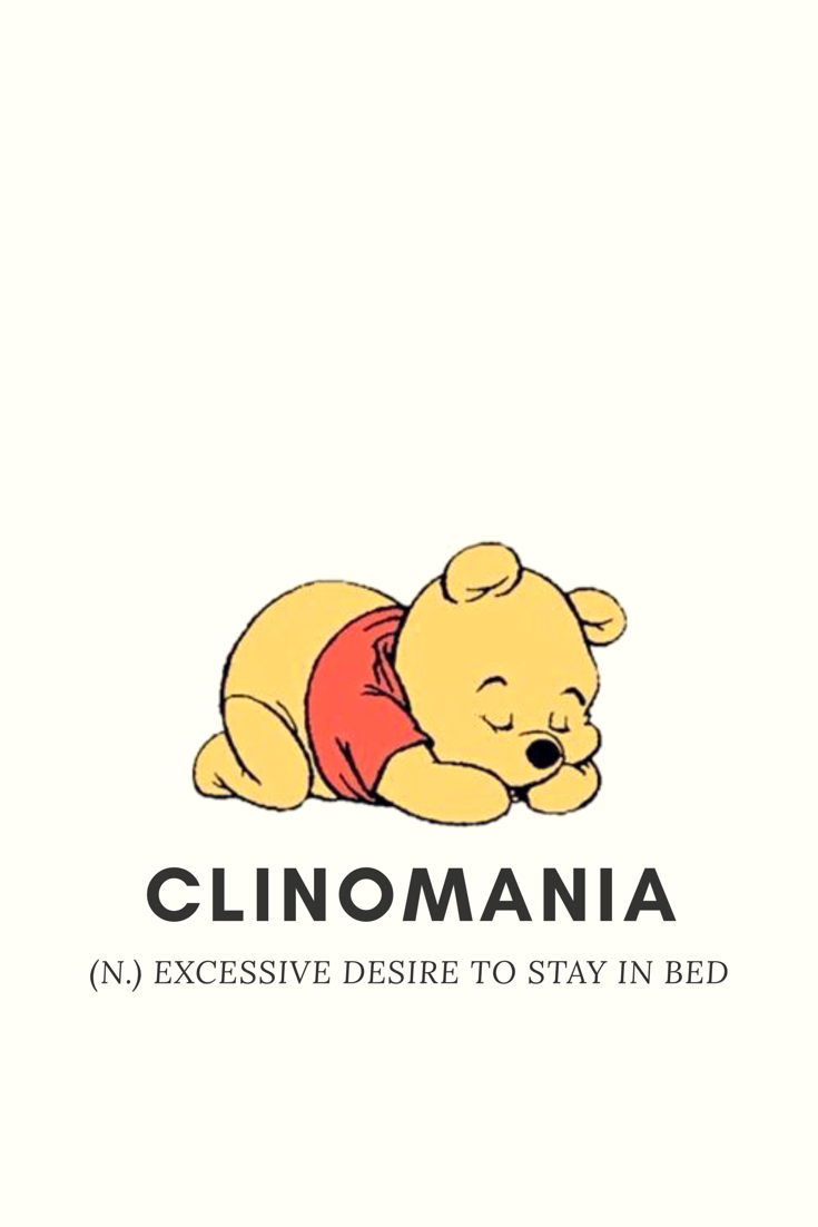 WinniethePooh Clinomania Winnie The Pooh IPhone Wallpaper