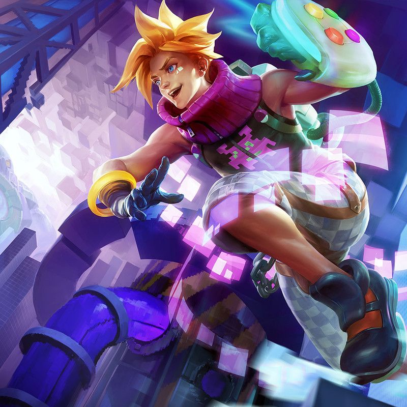 Arcade Ezreal Splash Art For League Of Legends I Completed This Job