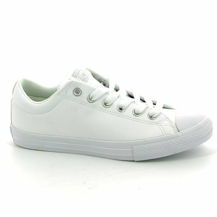 2ef83194e11e eBay  Sponsored Converse Chuck Taylor All Star White STREET SLIP Lo boys  651782C Sneaker Shoes