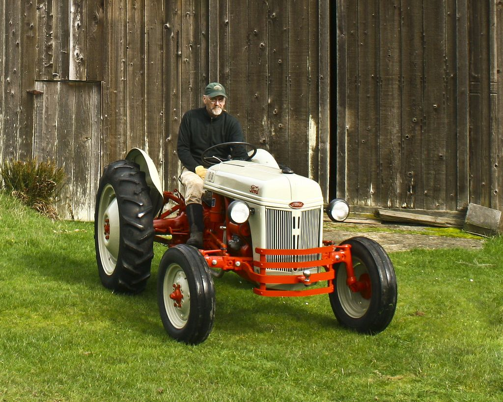 8N Back at the Farm | Tractors and Farm Machinery | 8n ford