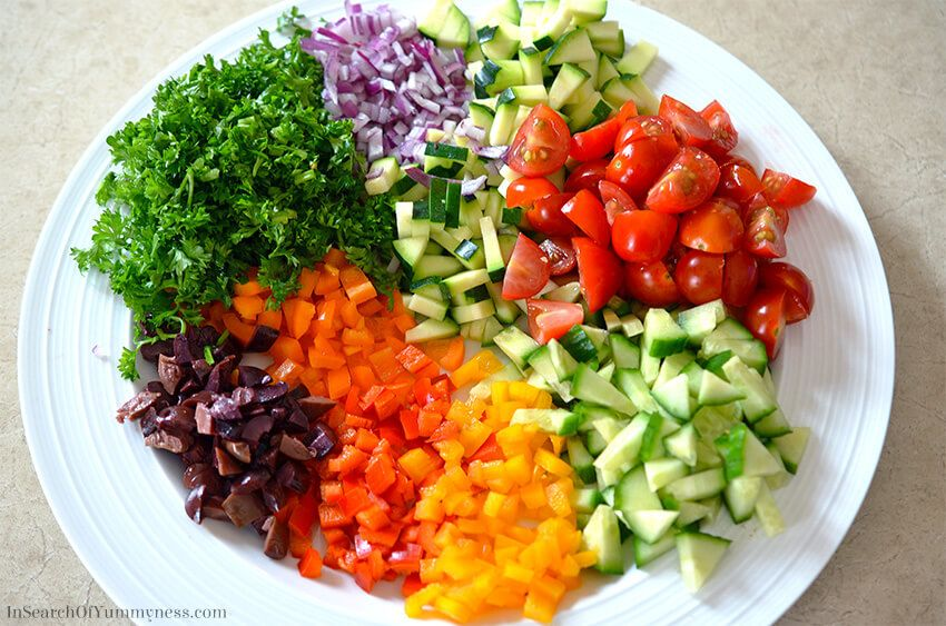 finely chopped food diet recipes