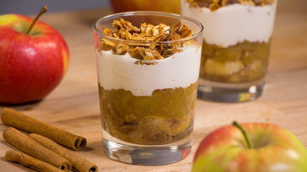 Weihnachtsdessert: Rezept für Bratapfel-Tiramisu   BR.de