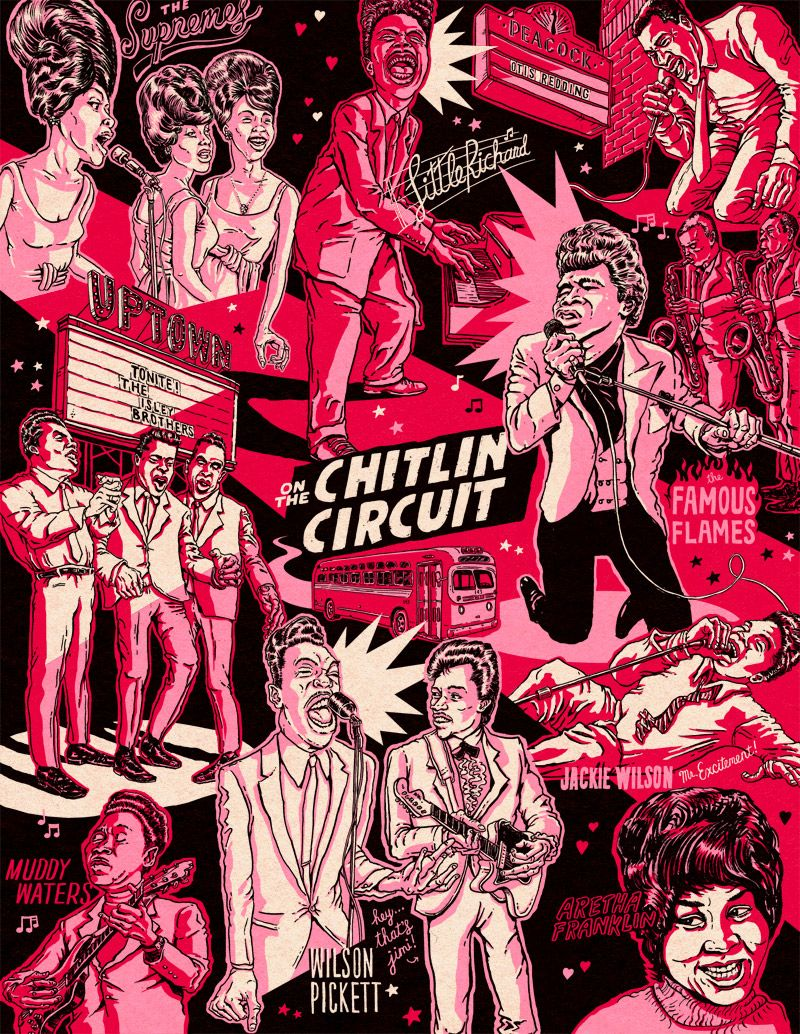 THE CHITLIN CIRCUIT Illustration, History, King play