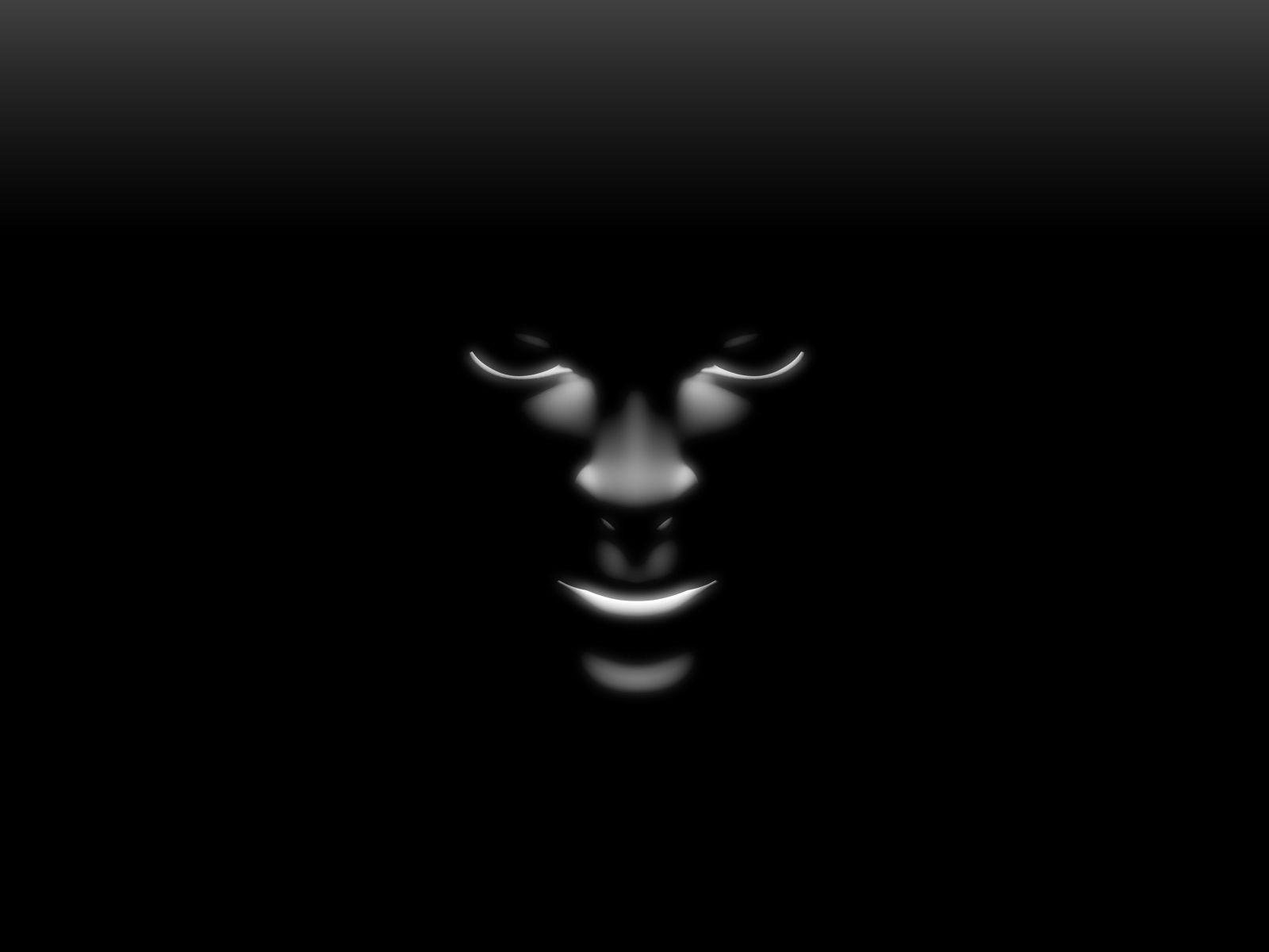 Black Wallpaper Black Shadow Face Pure Black Wallpaper Black And White Abstract Black Wallpaper