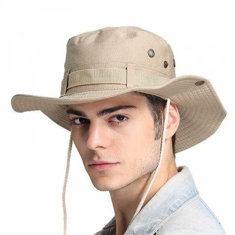 Outdoor Bucket Hat For Men Uv Package Fishing Sun Hats