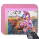 """Flamingo Mouse Pad-Pink Mouse Pad -                                    Flamingo Mouse Pad-Pink Mouse Pad  $  13.00  by MVBTreasures    mothers day: Zazzle.com Store: Matching """"mothers day""""  http://47beauty.com/flamingo-mouse-pad-pink-mouse-pad/"""