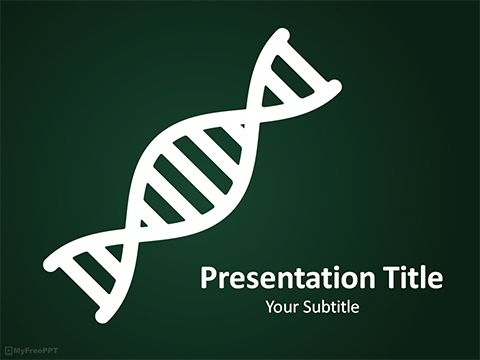 dna powerpoint template | dna | pinterest | template, free ppt, Modern powerpoint