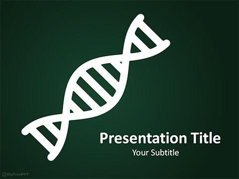 dna powerpoint template | download | pinterest | template and free, Dna Ppt Template, Powerpoint templates