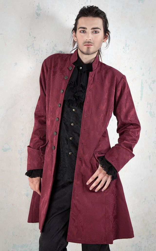 425BR - Brocade Priory Coat
