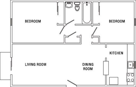 Apartment Floor Plans 2 Bedroom perfect garage apartment floor plans 2 bedroom level house designs