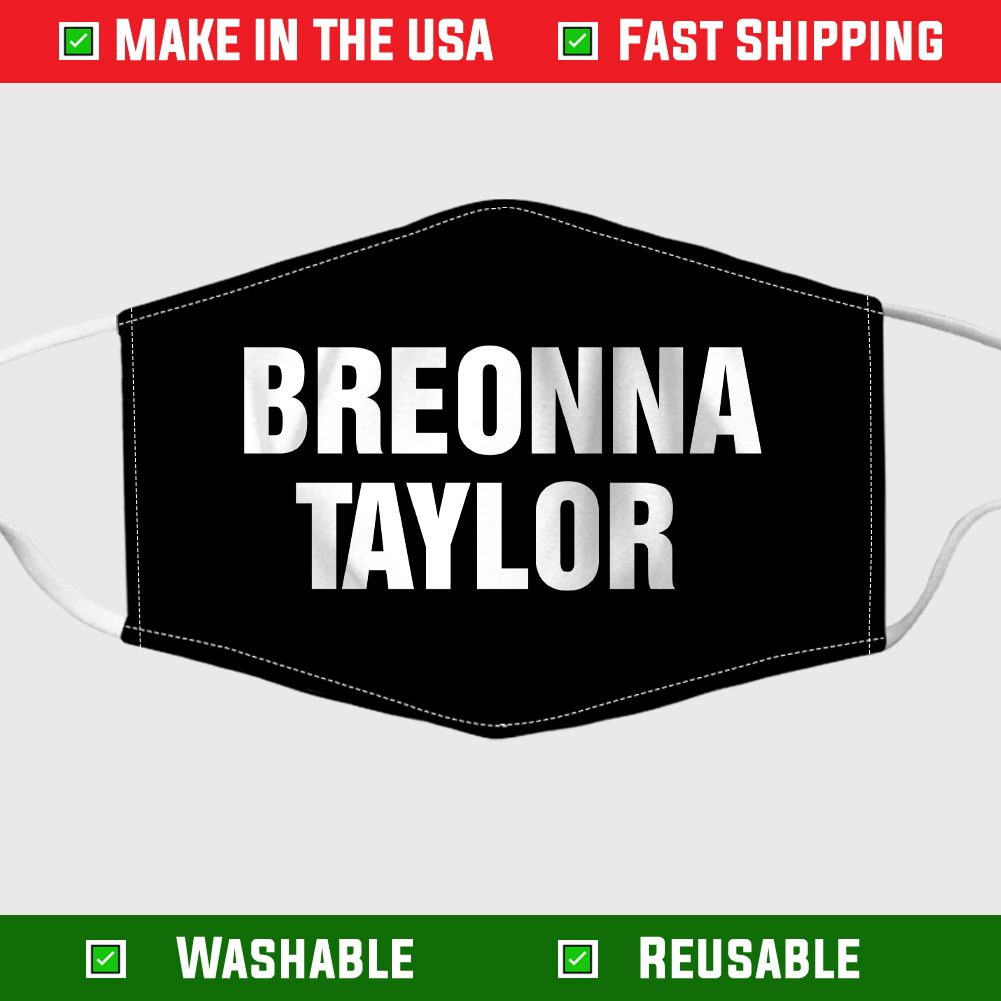 Breonna Taylor Fabric Face Mask In 2020 Breonna Taylor Face Mask Fabric