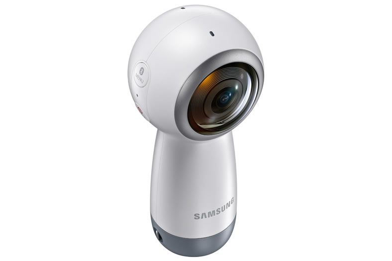 Samsung S New Gear 360 Captures Full 4k Video With Live Broadcasting Becoming The Ultimate Social Camera Digital Camera Accessories 360 Camera Cell Phone Camera