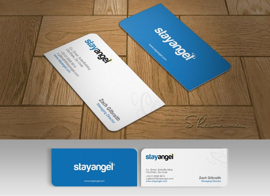 freelance Create Business Cards for Hotel website - StayAngel by ...