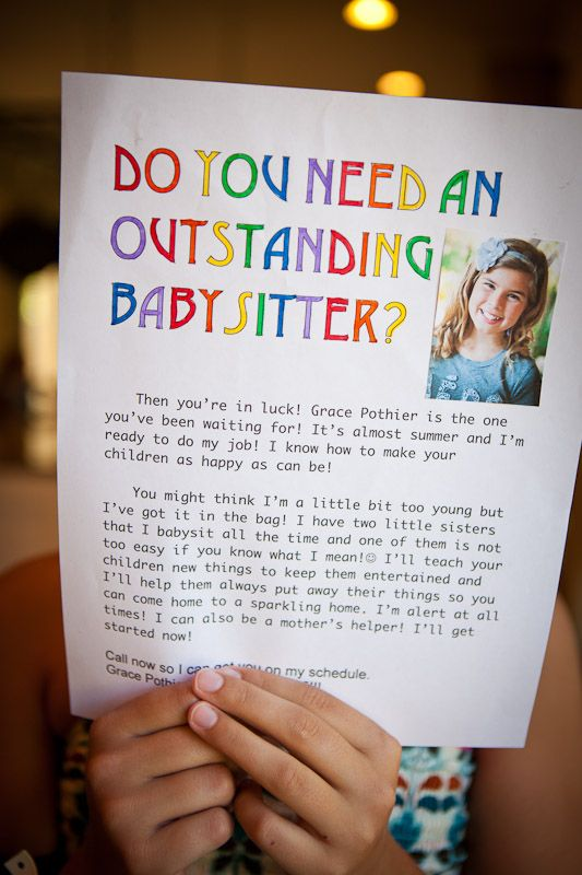 fun ideas for babysitting