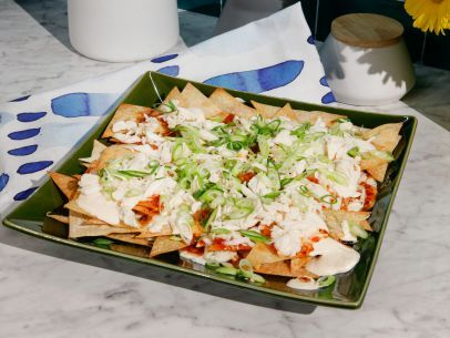 Crab Rangoon Nachos Recipe Food Network Recipes Food Recipes