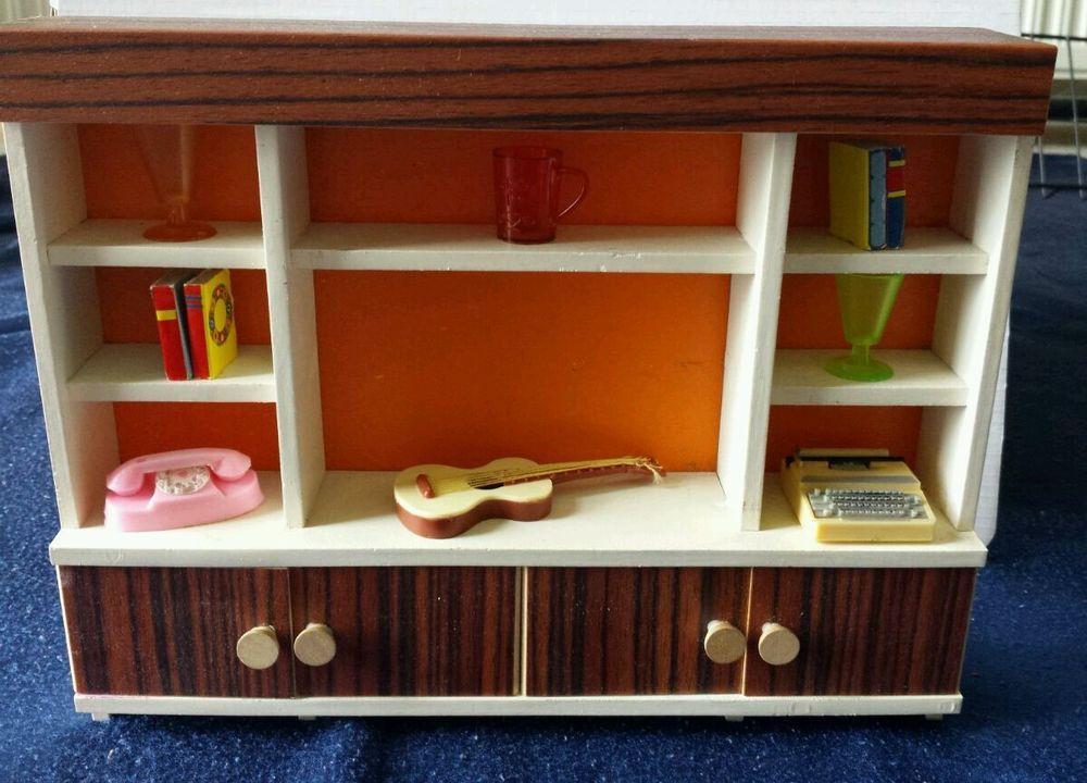Großer Wohnzimmerschrank ~ Bodo hennig maxi wohnzimmerschrank barbie große puppenstube in