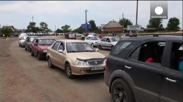 Ucrania: se dispara el número de desplazados y los que buscan refugio en Rusia
