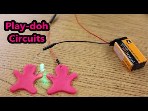 Create Basic Electrical Circuits Using Play Doh As A Conductor