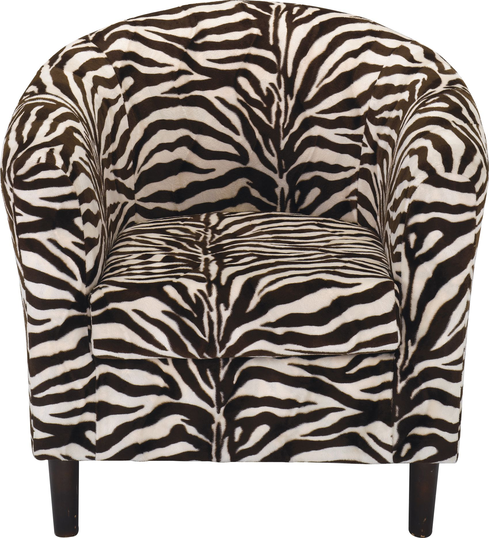 Black and white chair drawing - Drawing On The Timeless Zebra Animal Print This Black And White Tub Chair Is A