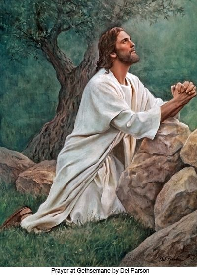 Jesus in the Garden of Gethsemane Life of Our Lord Jesus Christ