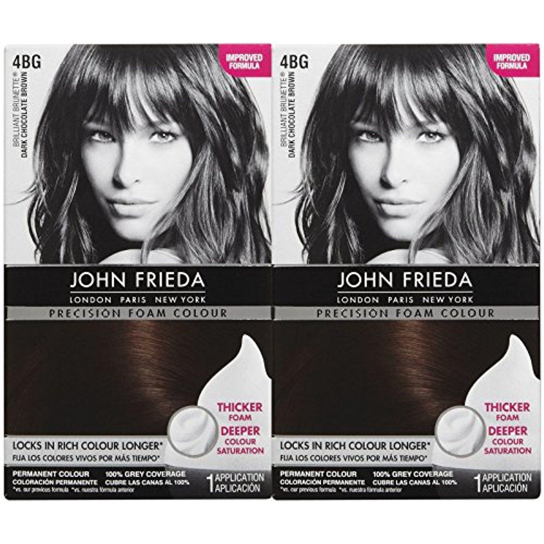 John Frieda Precision Foam Hair Colour Dark Chocolate Brown BG