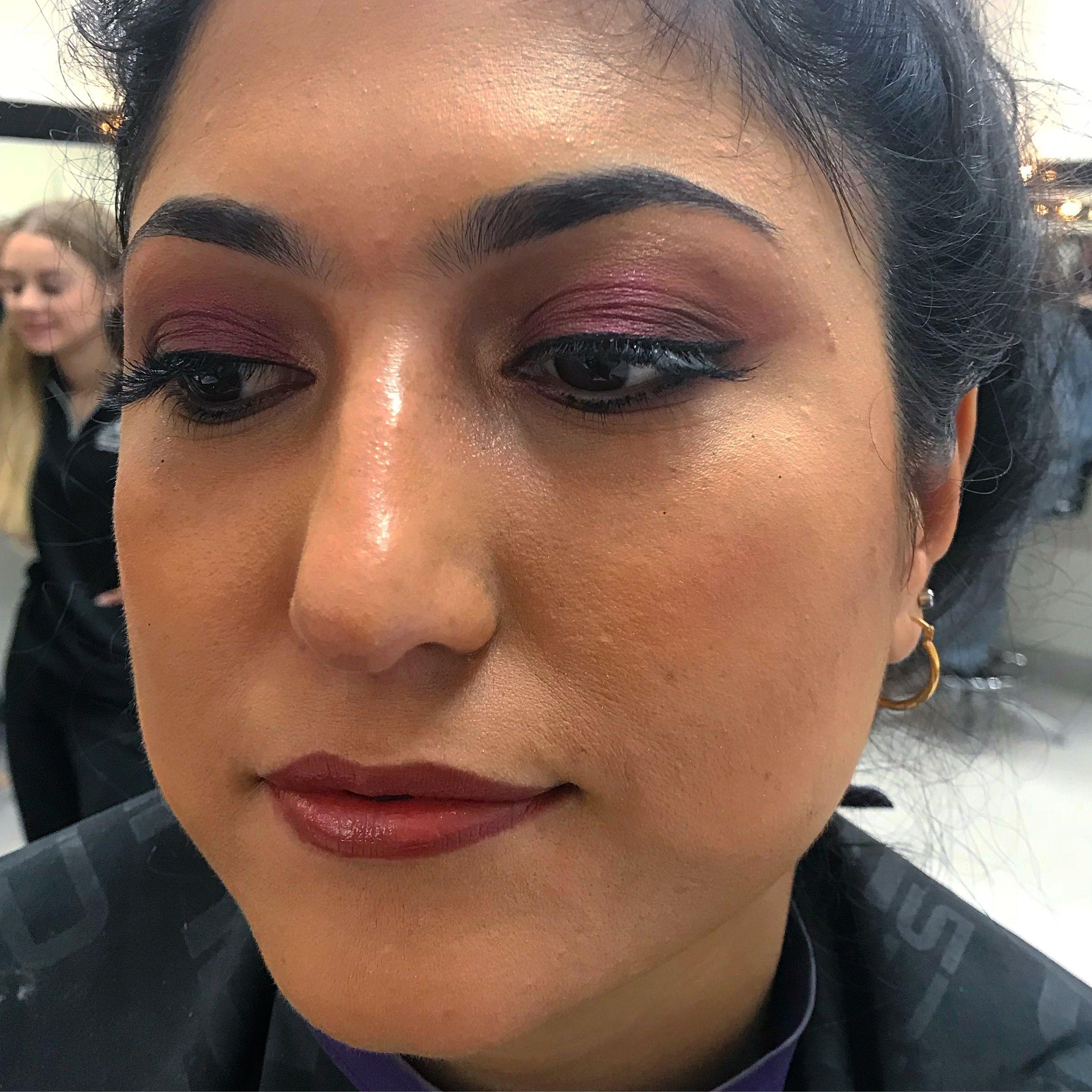 A subtle purple Smokey eye 😊 Alex grace makeup mobile