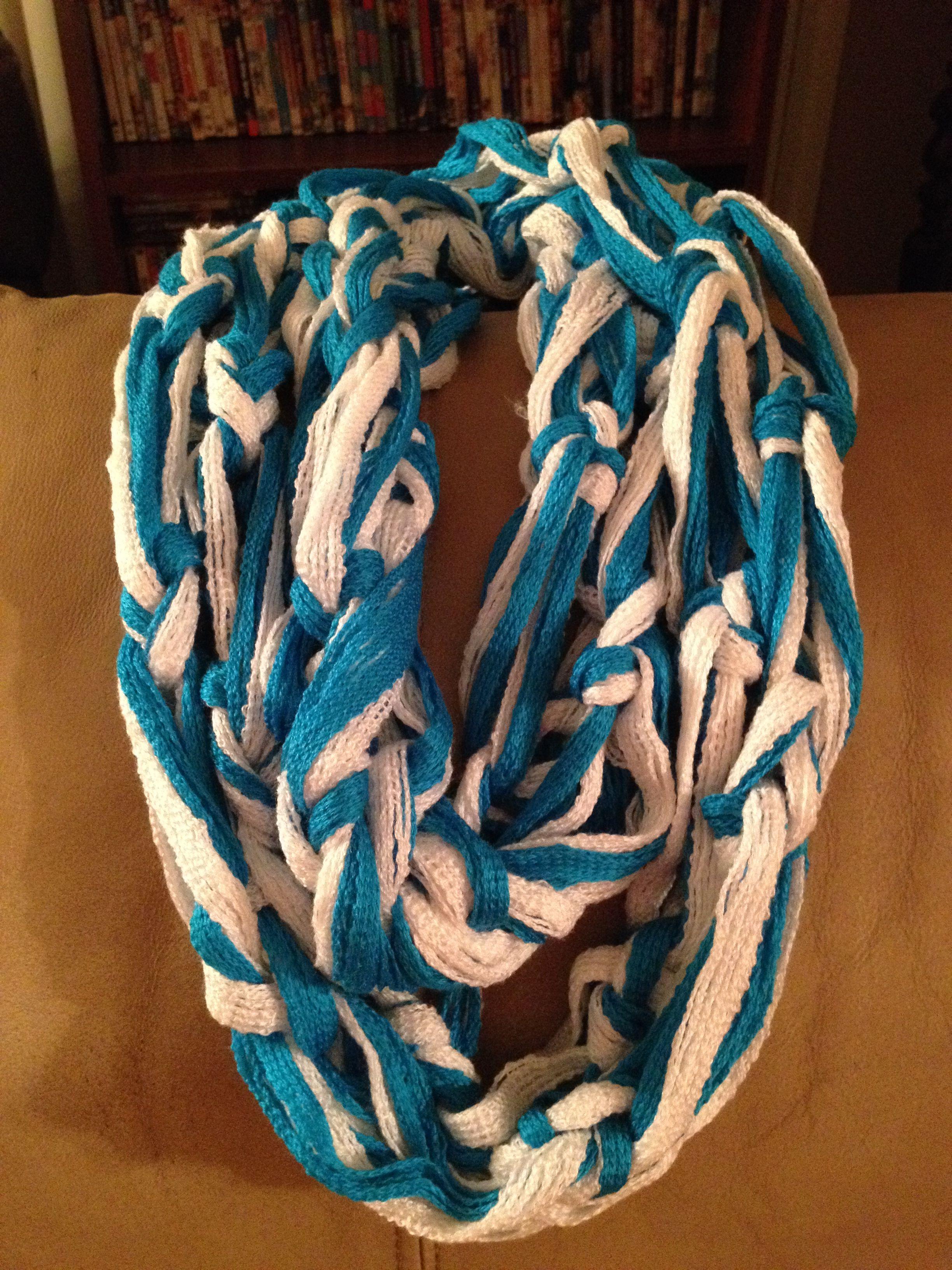 Arm knitted sashay scarf | scarf | Pinterest | Caballos
