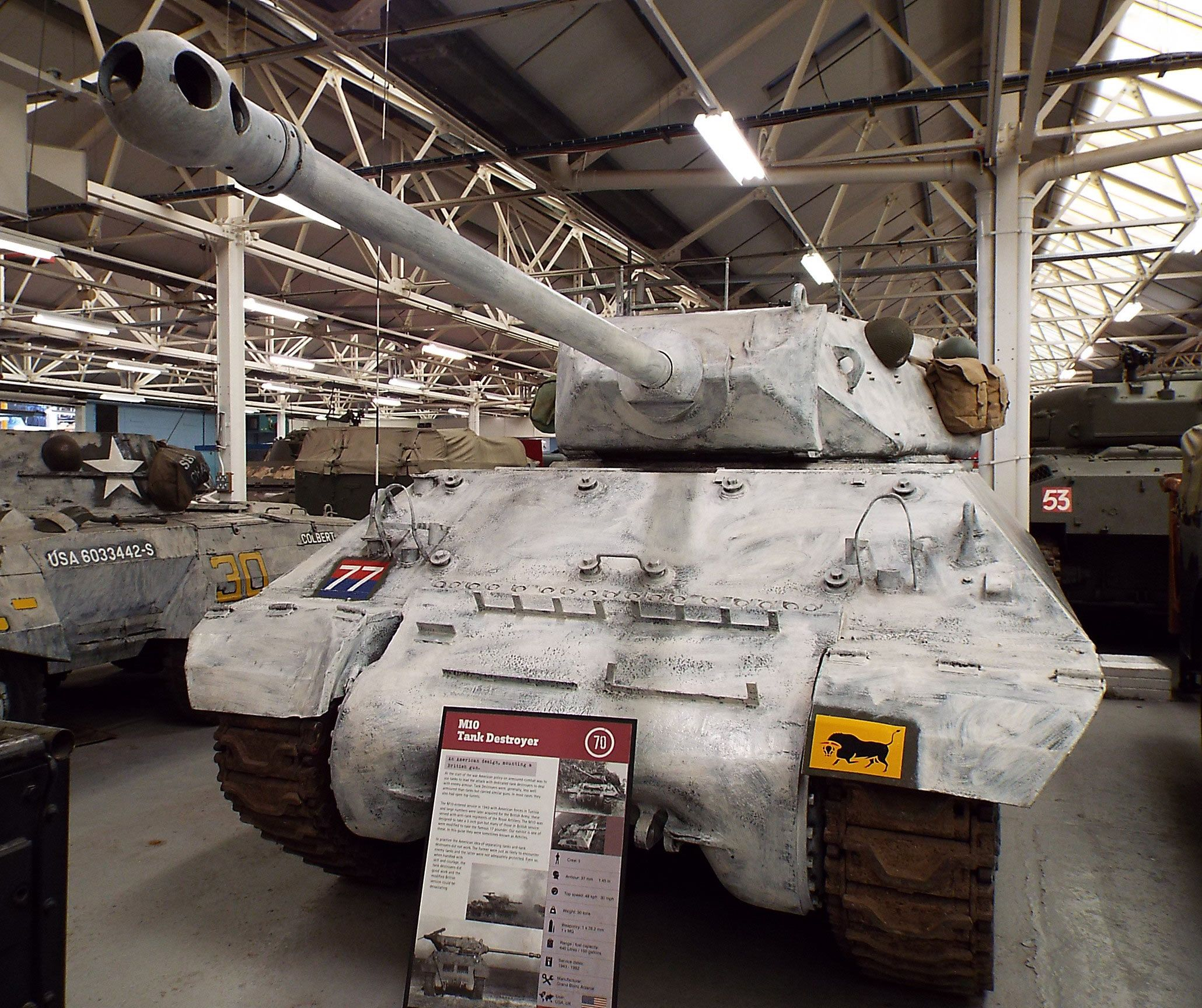 US M Tank Destroyer  Tank Museum Bovington Tanks - Military museums in us