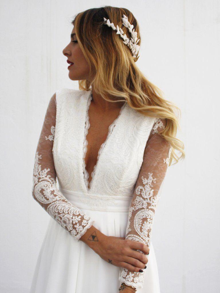 Vestidos de novia ibicencos sevilla