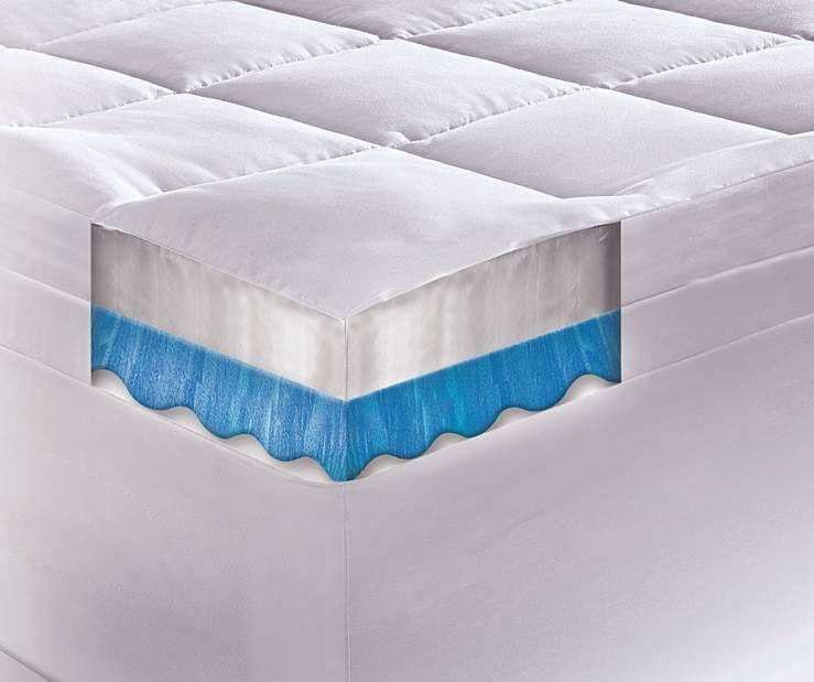 Serta Rest 4 Gel Memory Foam Queen Mattress Topper Big Lots Our