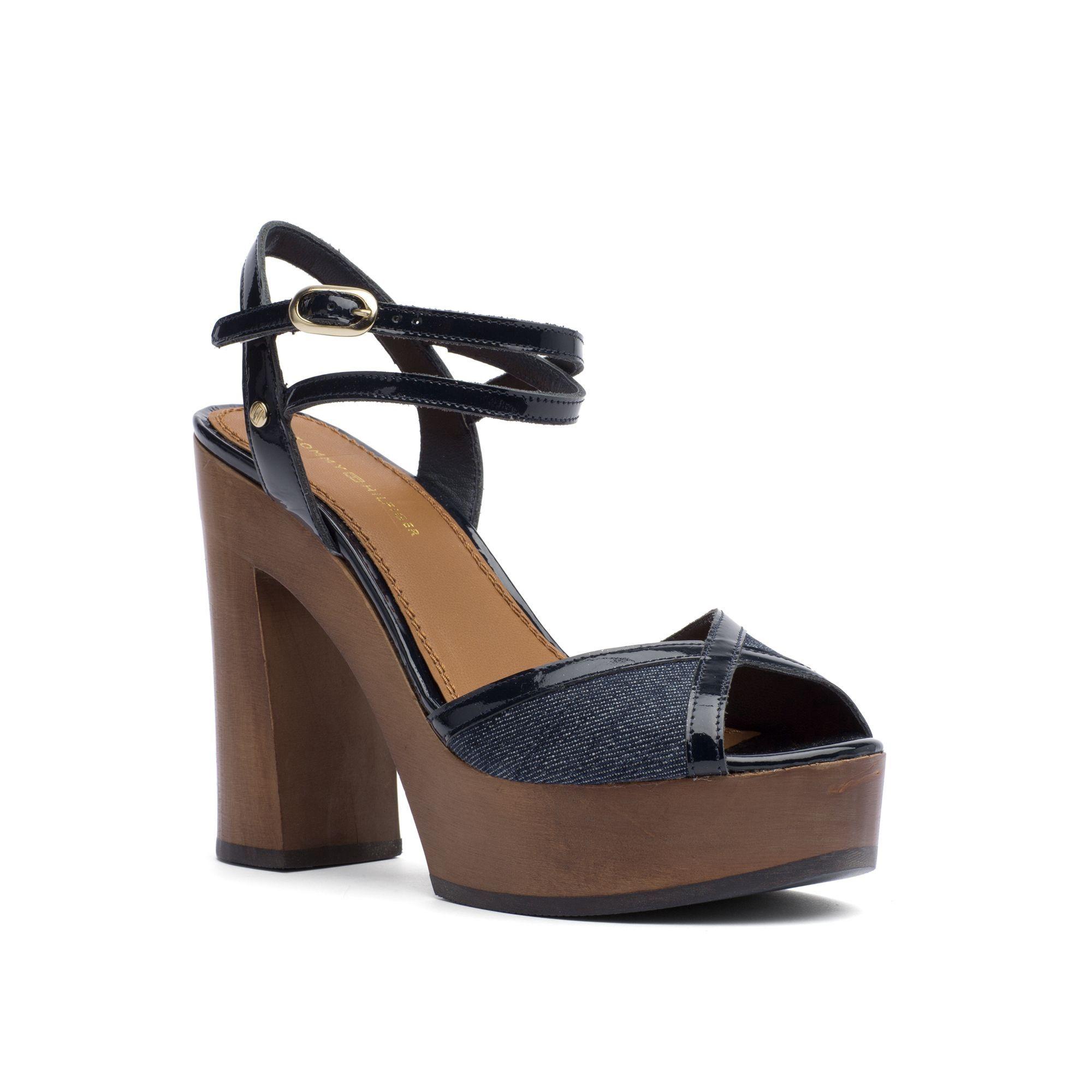 0daae7539ca4c TOMMY HILFIGER Denim Platform Sandal - Denim.  tommyhilfiger  shoes  all