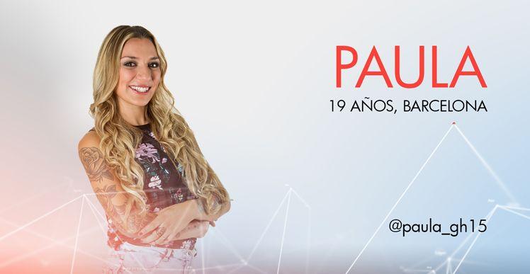 Paula Concursante De Gran Hermano 15 Página Oficial Hermanas Telecinco Es Carteleras