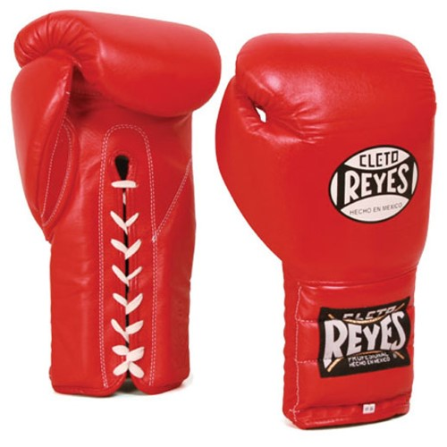 Blue Cleto Reyes Traditional Lace Up Training Boxing Gloves