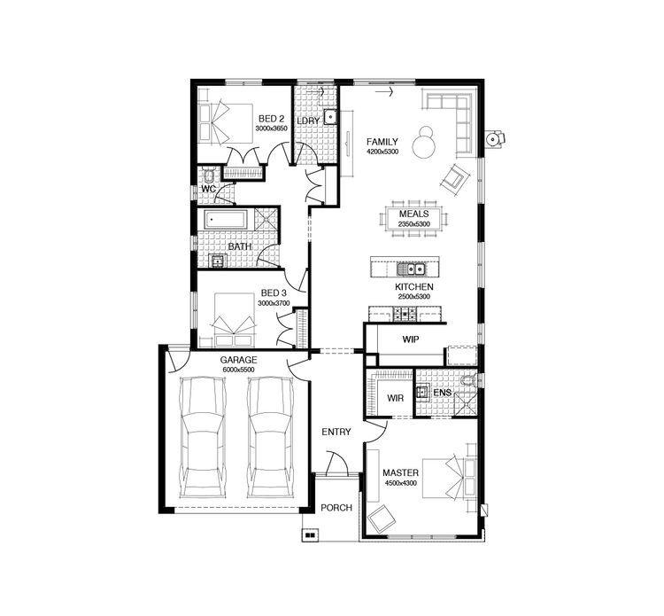 Montreal Floor Plan Simonds Homes House Design House Plans